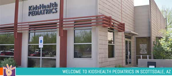 Directions to KidsHealth Pediatrics in Scottsdale, AZ